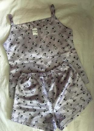 Летняя пижама h&m из серии disney