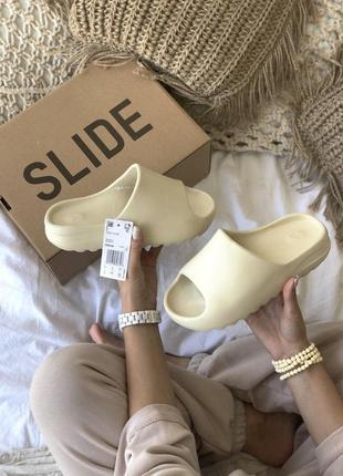 Новинка тапочки унисекс adidas yeezy slide resine