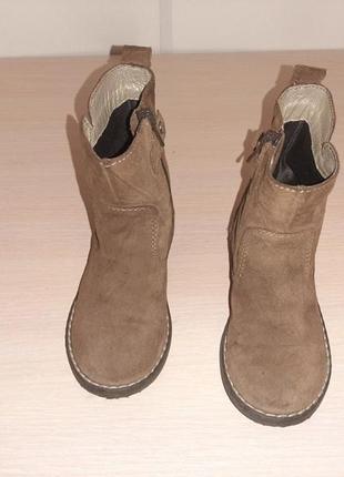 Ботинки,демисезонные ботинки,натуральные замшевые.