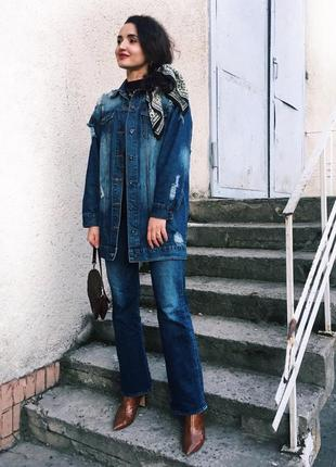 Актуальні джинси-кльош tommy hilfiger