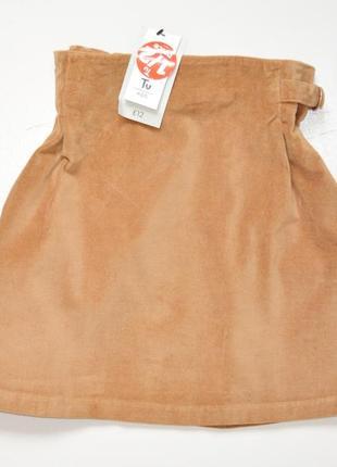Tu. модная теплая юбка, новая, с этикетками, 11 лет, 98% хлопок