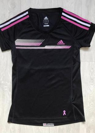 Спортивная футболка adidas. оригинал размер s. одежда для спорта фитнеса