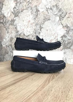 Keys италия 41-42 р кожа туфли мокасины туфлі мокасини