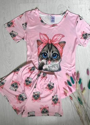 Пижама с кошками 31