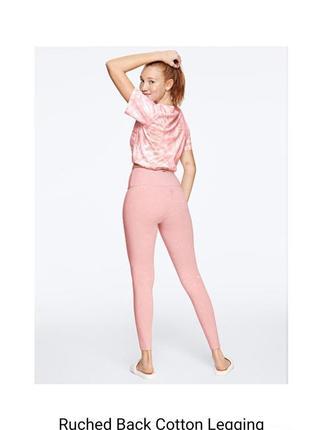 Спортивные лосины victoria secret серия pink