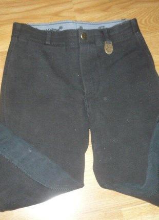 Штаны для конного спорта 152р. черные