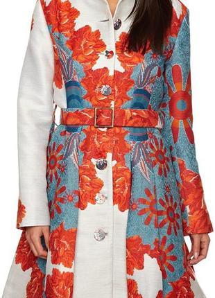 Потрясающее демисезонное пальто desigual