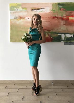 Karen millen брендовое вечернее платье