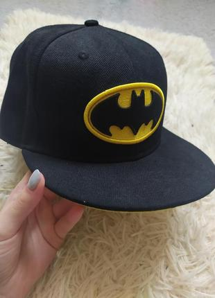 Кепка реперка, бейсболка batman