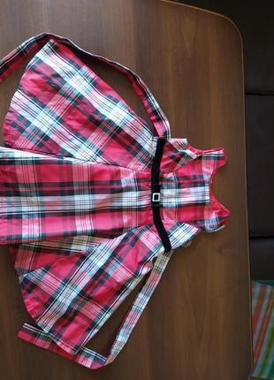 Стильное платье сарафан девочке 2. 3 4 года из сша