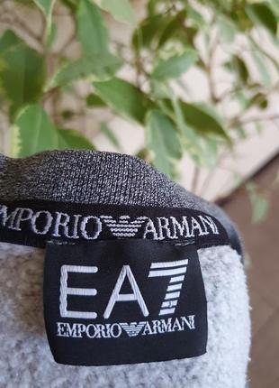 Стильный свитшот с боковыми карманами от ea7 emporio armani, оригинал