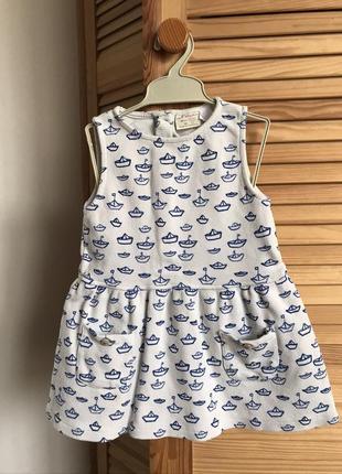 Сарафан платье zara, 18-24