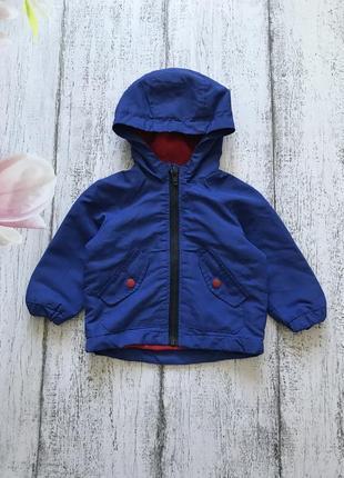 Крутая ветровка куртка на флисовой подкладке primark 6-9 мес