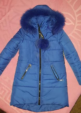Пуховик пальто на девочку