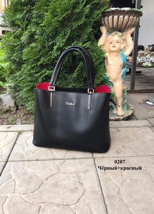 Новая шикарная кожаная сумка
