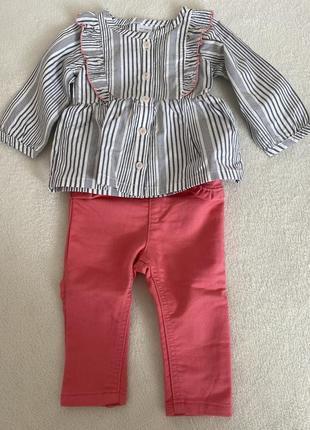Костюмчик рубашка і штани