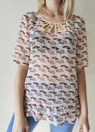 Оригинальная блуза next