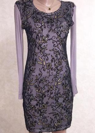 Платье трикотаж размер s,m