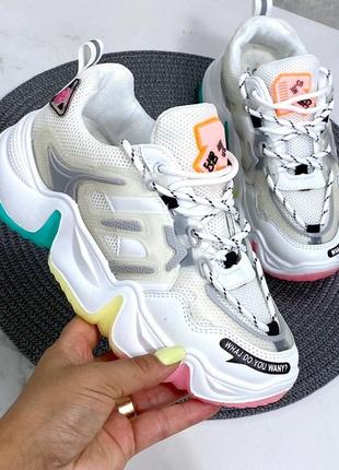 Стильные кроссовки в стиле баленсиага