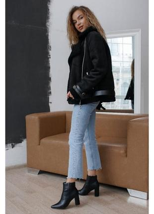 Куртка черная на меху