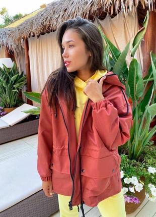 Куртка, ветровка бордовая