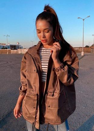 Куртка, ветровка коричневая