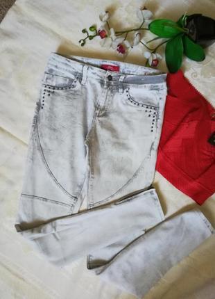 Шикарные скини  джинсы джогеры  легенсы s. oliver
