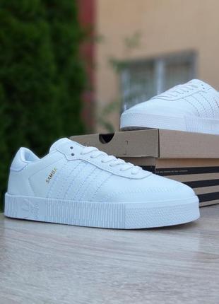 👟 кроссовки женские adidas samba / наложенный платёж bs👟