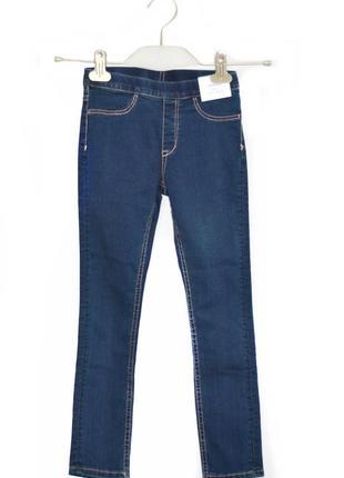 Детские джинсовые леггенсы  h&m. код 3216(2)