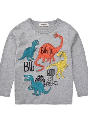 Реглан цветные динозавры