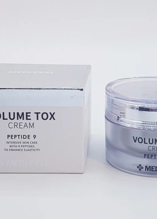 Омолаживающий крем с пептидами medi peel volume tox peptide 9 cream 50 мл
