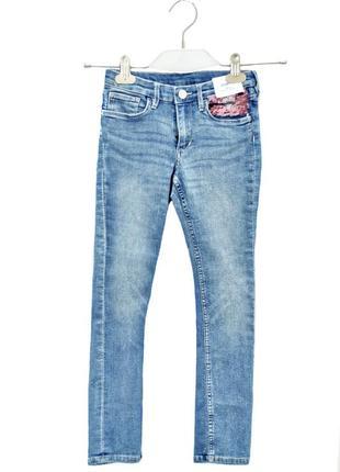 Детские джинсы  для девочки h&m. код 3215.