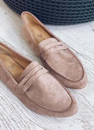Туфли лоферы, есть ещё черние