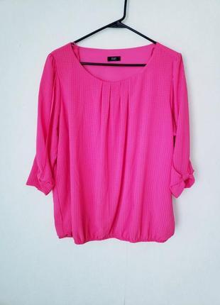 Новая текстурированная блуза f&f 18-20 uk