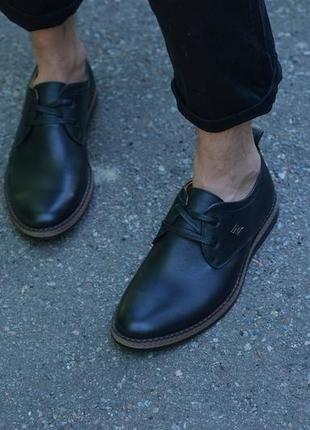 Кожаные туфли от производителя flamanti, шкіряні туфлі від виробника