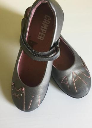 Туфельки camper 31-32 кожаные