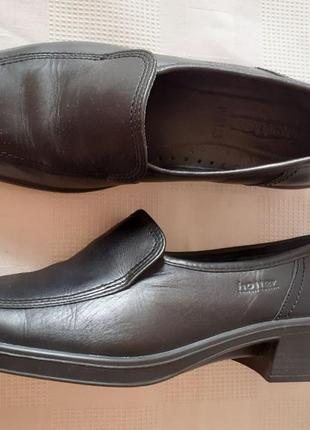 Hotter comfort туфли кожа р. 38,5 ст. 25,5 см