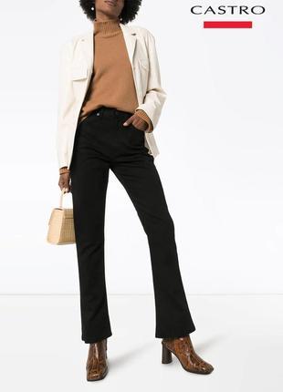 Новые черные джинсы клеш castro