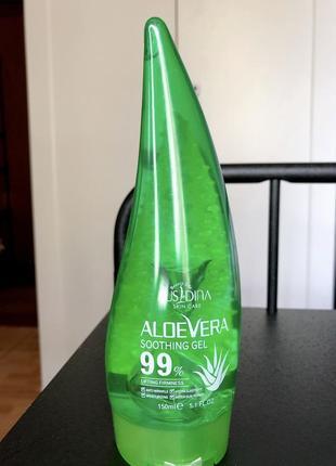 Aloevera гель 99% алое