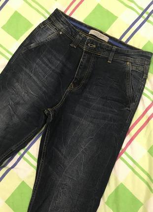 Стильные мужские джинсы бренда zara размер s m