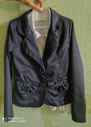 Школьный пиджак на девочку