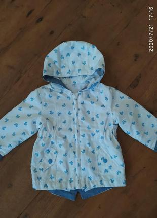 Курточка на весну осень для девочки