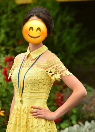Красивое нарядное платье для торжества