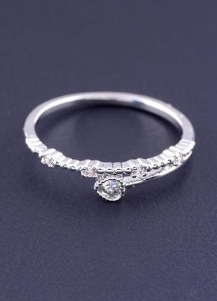 Кольцо 'xuping' фианит (родий) 0512960.