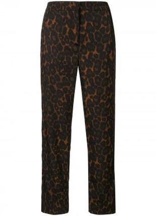 🌺🎀🌺красивые леопардовые женские укороченные брюки, штаны old navy🔥🔥🔥