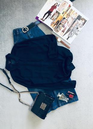 Красивейшая/ легкая/ удлиненная блуза с длинным рукавом amisu