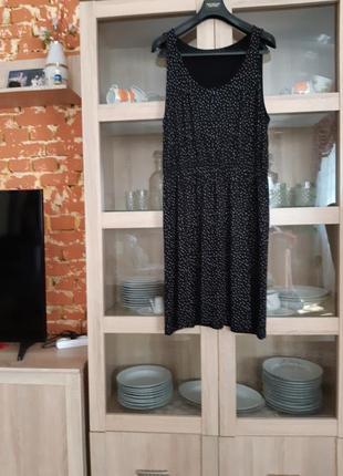 Очень комфортное вискозное платье большого размера