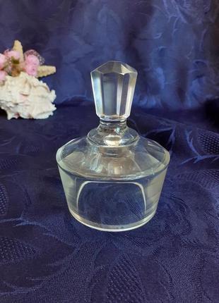 Крышка от графина стекло ссср с цельным кристаллом