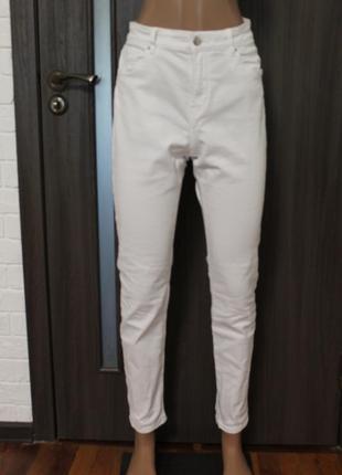 Белые джинсы h&m в идеальном состоянии l-xl
