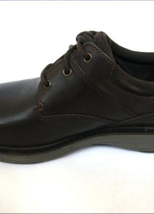 Мужские кожаные туфли merrell world т. кор. оригинал кожа2 фото